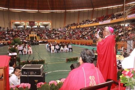 Arzobispo clausuró la jornada de Pentecostés