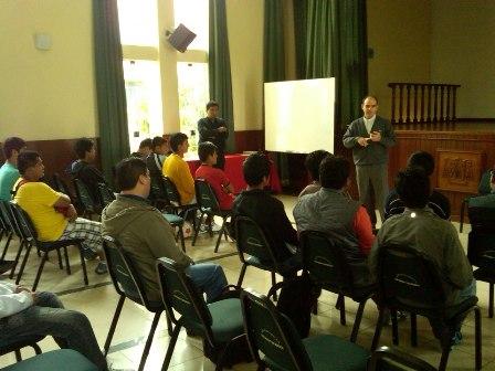 Primera jornada vocacional en el Seminario Mayor