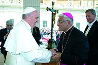 Papa bendijo a la Arquidiócesis de Trujillo