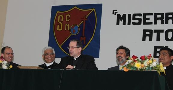 Visita del Nuncio al Seminario Mayor