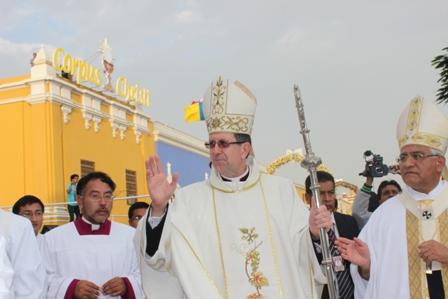 Nuncio Apostólico agradeció la acogida trujillana