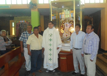 Virú: restaurada imagen de la Virgen de los Dolores