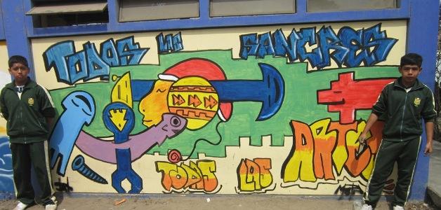 Ganaron concurso nacional de graffitis