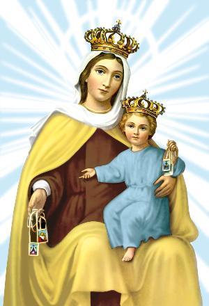 16 de julio: Fiesta de la Virgen del Carmen