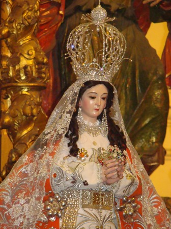 Programa de la Peregrinación de la Virgen de la Puerta