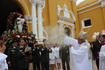 Arzobispo presidió Misa por fiesta de Santa Rosa de Lima