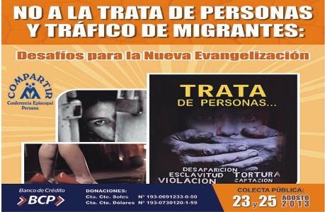 Actividades por Día Internacional contra la trata de personas