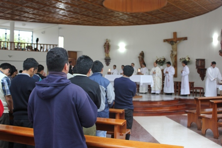 388º aniversario del Seminario San Carlos y San Marcelo
