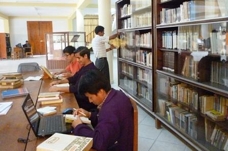 Campaña pro libros para  el Seminario Mayor