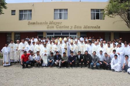 Seminario Mayor celebró sus 388 años de fundación