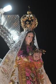 Florencia de Mora: llega imagen de la Virgen de la Puerta bendecida por el Papa
