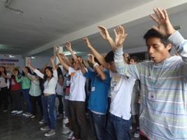 """""""XVII Amén"""" en el colegio Santa Rosa"""