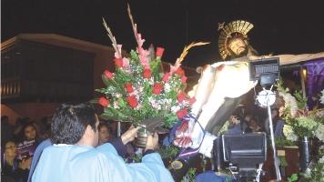 Quinto aniversario de la entronización del Señor de Burgos