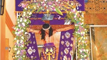 Vía Crucis Arquidiocesano con imagen del Señor de los Milagros de Paiján