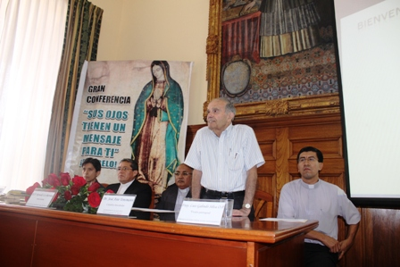 """Científico dará a conocer estudios sobre los ojos de la """"Virgen de Guadalupe"""""""