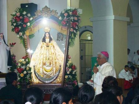 """""""Virgen de la Puerta"""" de Moche visitará Trujillo"""