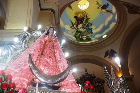 Mañana retorna a Moche la Virgen de la Puerta