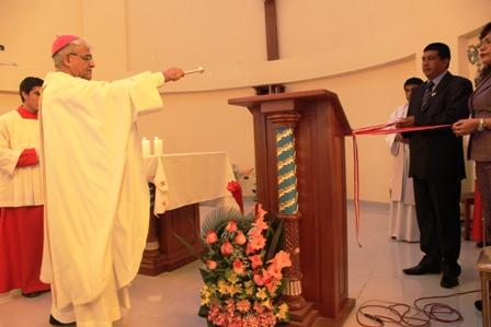 Virú: Arzobispo bendijo nueva iglesia de Chao