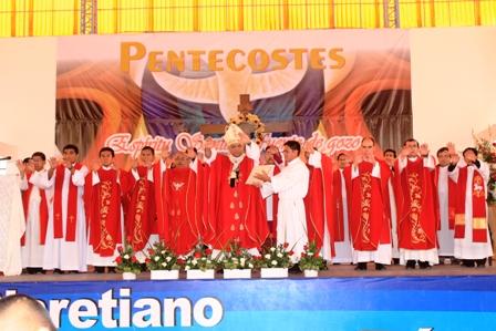 Arzobispo confirmará a 63 alumnos Suboficiales PNP