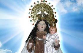 Mes memorable a la Madre del monte Carmelo