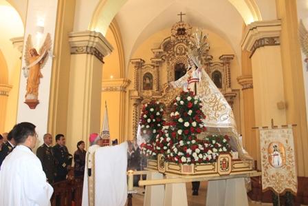 """Arzobispo presidió Misa en la Solemnidad de  la """"Virgen de la Mercedes"""""""