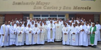 Retiro anual del clero arquidiocesano en Trujillo