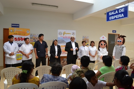 Inician campaña para implementar  Policlínico en Alto Trujillo