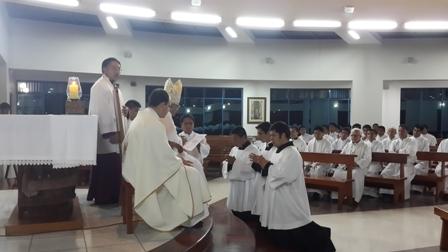 Seminaristas trujillanos recibieron  Ministerios de Acolitado y Lectorado