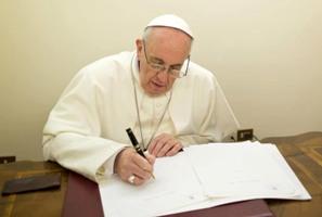 Francisco prepara encíclica sobre  ecología para principios de 2015