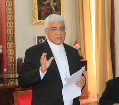 Arzobispo de Trujillo propone Ley sobre cambio climático y defensoría del clima
