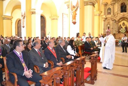 Homilía con ocasión del 194° Aniversario  de la Independencia de Trujillo