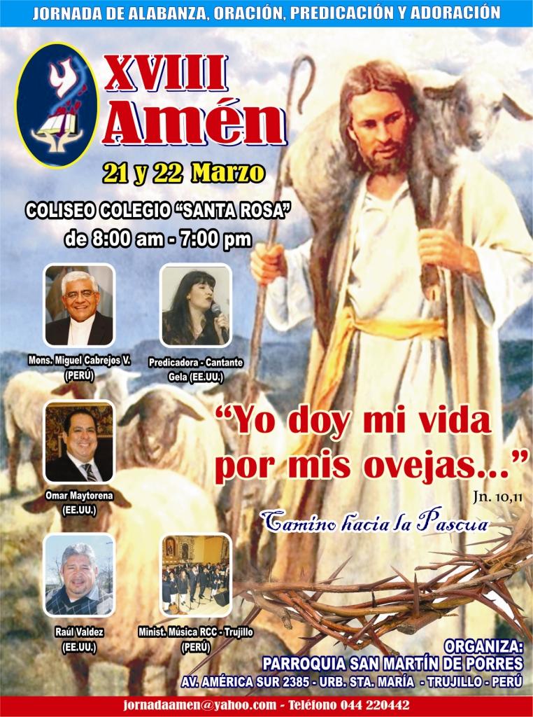 Fieles se preparan para Semana Santa con AMÉN