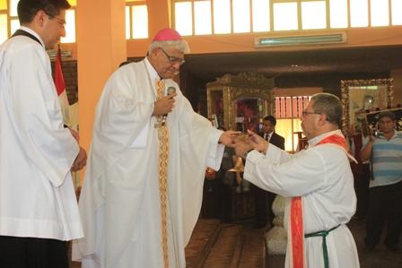 Virú: Arzobispo presentó a nuevos sacerdotes josefinos