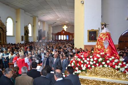 Santiago de Chuco: Arzobispo celebró Misa de Fiesta