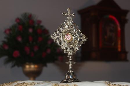La sangre de San Juan Pablo II llegó a Trujillo
