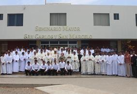 Moche: 120 Seminaristas iniciaron el año académico