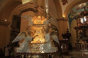 """Trujillo fue declarada """"Ciudad Eucarística"""" y Arzobispo bendijo nuevas andas del Corpus Christi"""