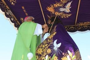 Chiclín: Arzobispo presidió Misa de Fiesta