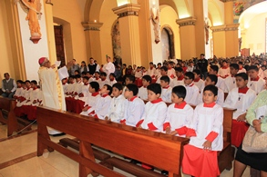 Monaguillos de la Arquidiócesis celebraron su día