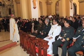 Arzobispo reconoce labor policial en el día de Santa Rosa