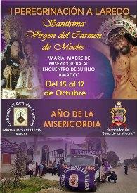 Moche: Fieles peregrinarán  a Laredo con Virgen del Carmen