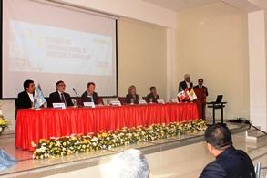 Inició el I Congreso Internacional de Derecho Canónico