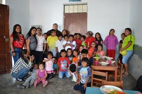 La Misericordia de Dios con los niños de Huanchaco