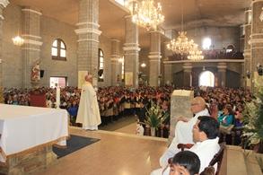 Otuzco: Miles de Fieles participaron en la Misa Central de la Virgen de la Puerta