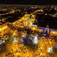 Mañana viernes se clausura el Festival Navideño de Luces y Colores, en la Plaza de Armas de Trujillo.