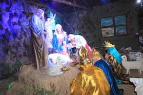 Se clausuró el Festival Navideño de Luces y Colores en la Plaza de Armas