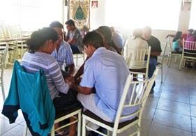 Internos del penal El Milagro realizaron terapia familiar