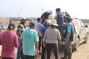 Arzobispado continúa entregando donaciones de la campaña solidaria con los damnificados