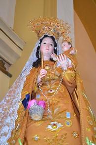 Huanchaco: Virgen Candelaria del Socorro, presente en Misa Papal