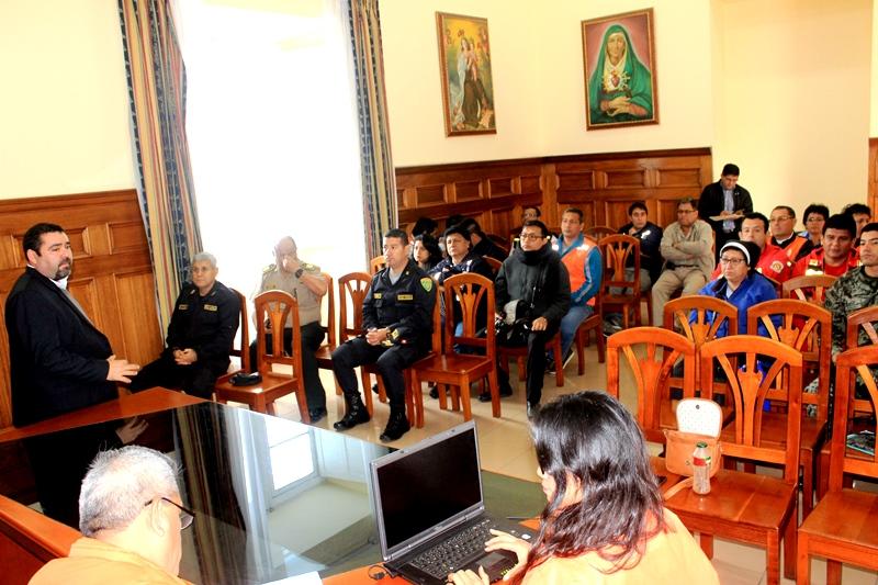 Autoridades realizan visita de campo para la seguridad papal